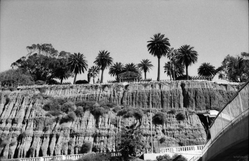 santa monica cliff- nicole