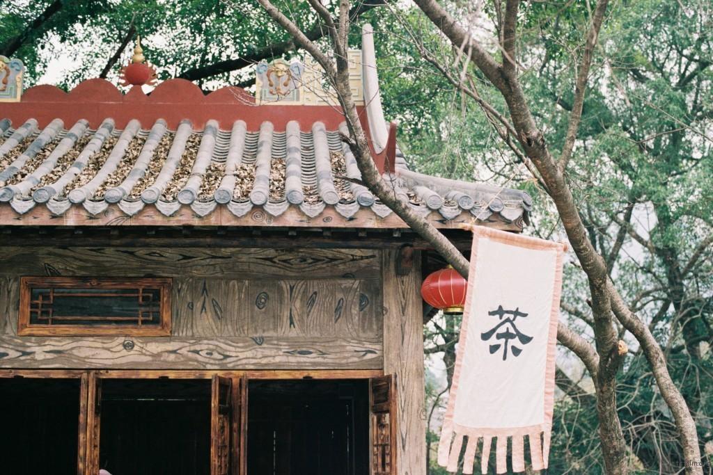 广西贺州黄姚古镇,民风淳朴,安静怡人。