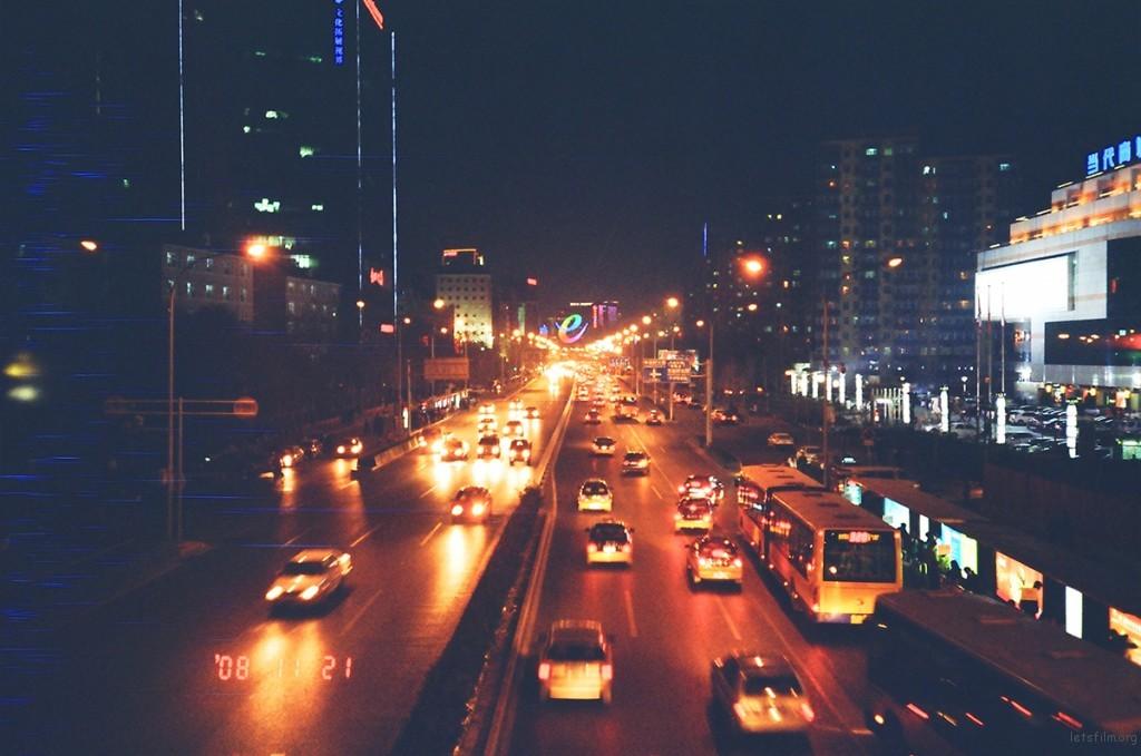 中关村夜景