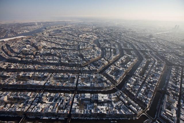 阿姆斯特丹是扩散开的!太强大了啦~
