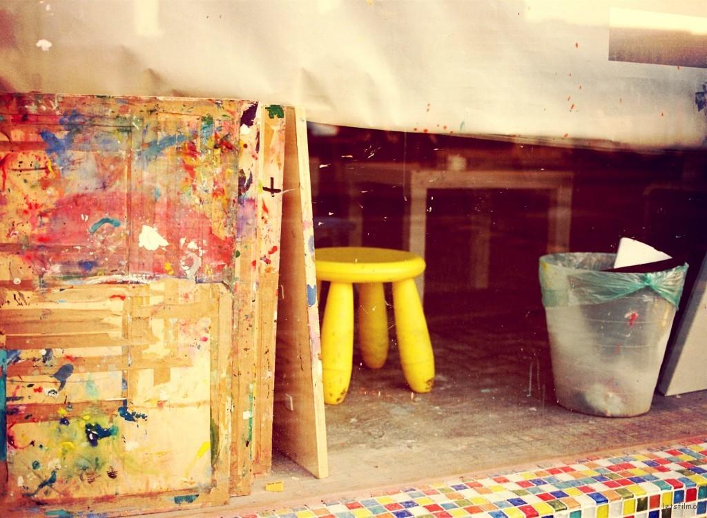 童年心中的画室
