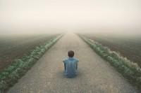 孤独的身影