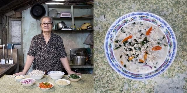 菲律宾,Carmen Alora,70岁,鲨鱼椰子汤