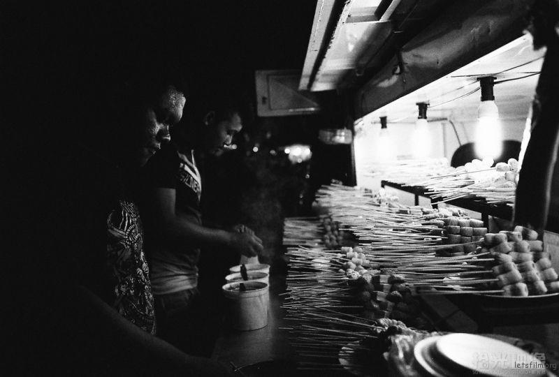 兰卡威珍南海滩夜市-小商贩No.4