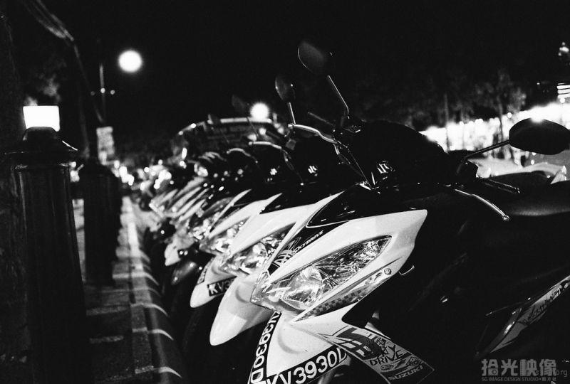 兰卡威珍南海滩夜市-摩托车No.8
