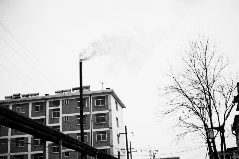 城市空气污染的一个来源