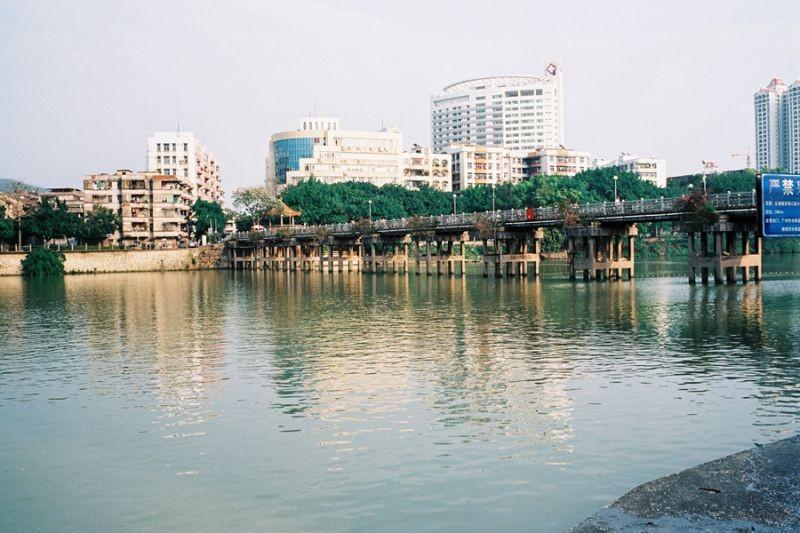 寂寞的增城东门桥