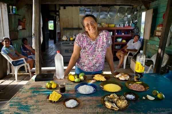 农场工人的老婆,来自巴西