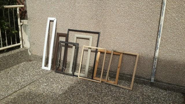 各种画框与木框,皆可用来拍摄。