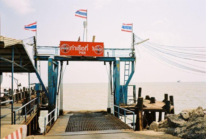 从这里坐船去苏梅岛