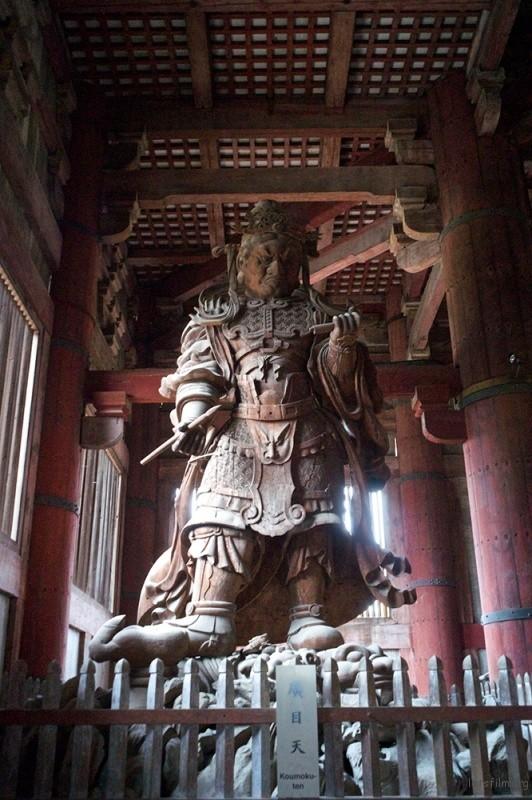 奈良 東大寺廣目天  RICOH GXR MOUNT A12 LEICA SUPER-ANGULON 21/4