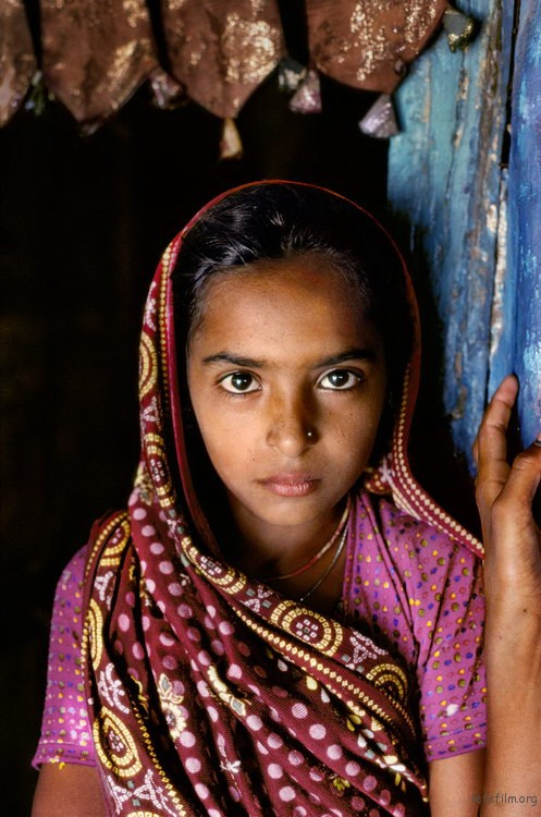 00736_06_2, 0736_06, Rabari girl, Rajasthan, India, 2010