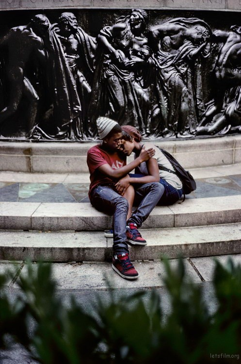 00736_14, A couple at Union Square, NYC, USA, 2010