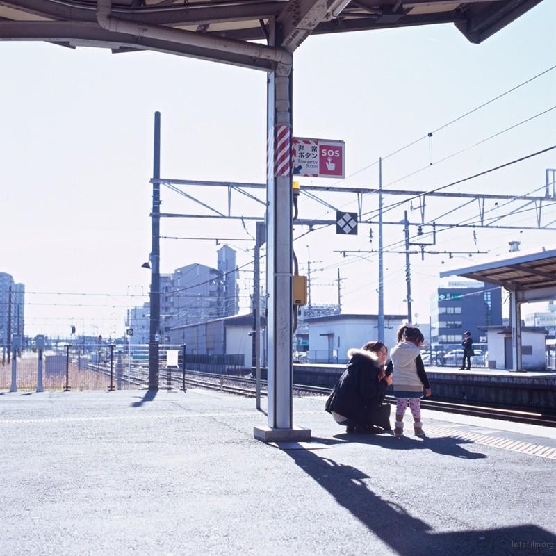京都 JR 駅  HASSELBLAD 500C/M ZEISS PLANAR T* 80/2.8 FUJIFILM RVP100F