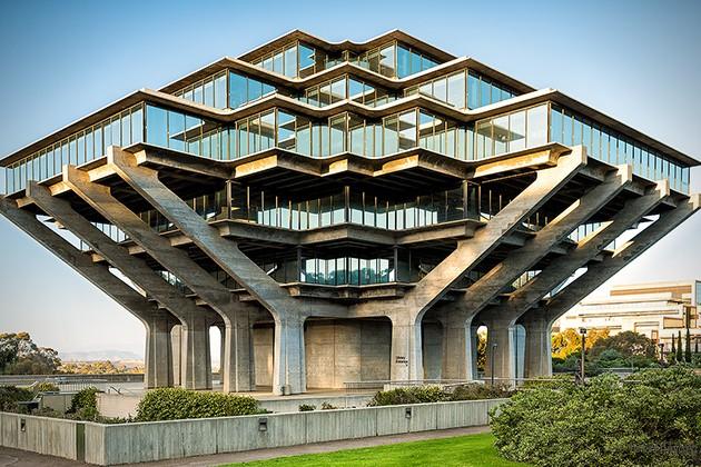 圣地牙哥州立大学图书馆。