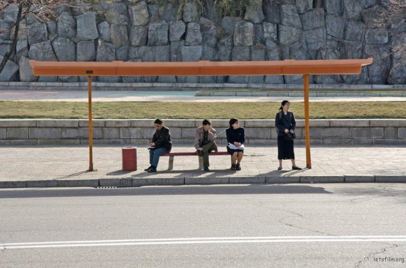 17号巴士站,平壤