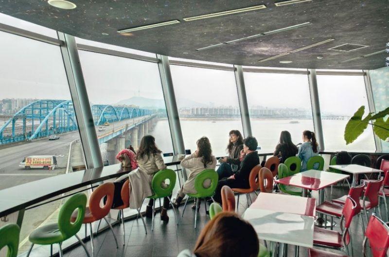 Cafe Sunset,铜雀大桥,首尔