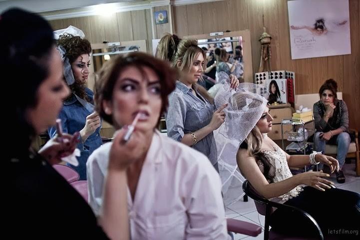 一间女士专用的髪廊。