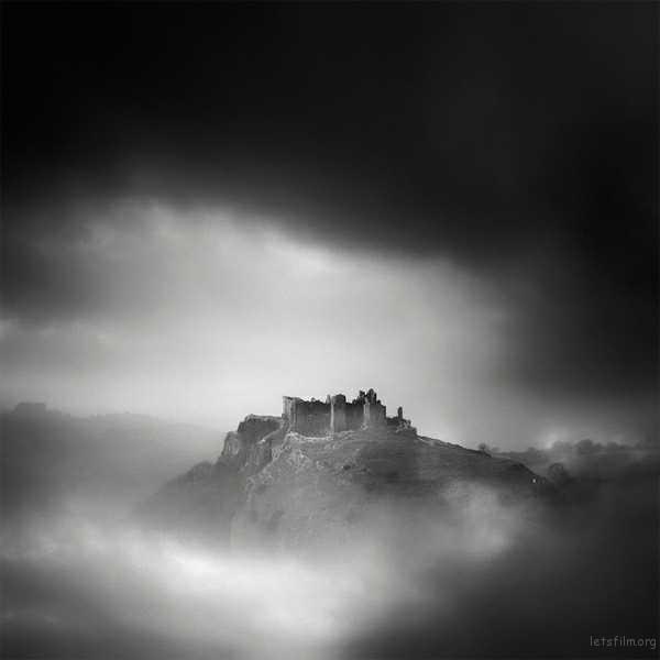 carreg cennen 威尔士 卡雷格凯南城堡