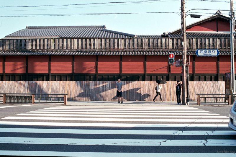 京都 祇園 PENTAX LX PENTAX K 35/2.8 KODAK PORTRA 160