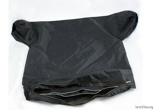 ▲知道这奇怪形状的布套是做什么的...