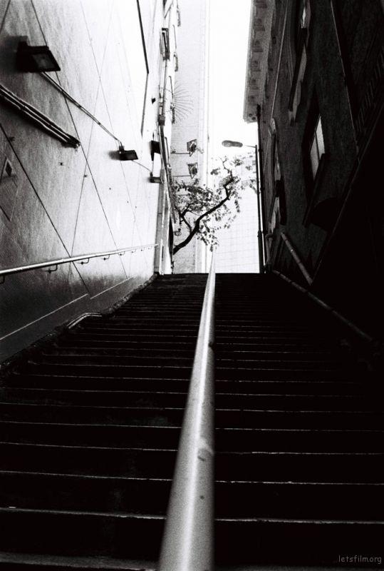 兰桂坊的楼梯