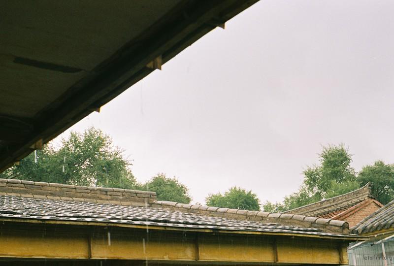 老房子的雨