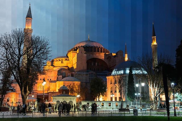 ▲圣索菲亚大教堂,伊斯坦堡,土耳其