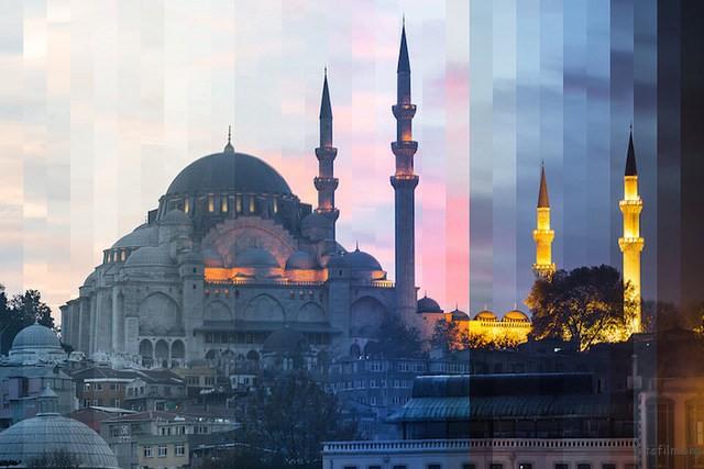 ▲苏里曼清真寺,伊斯坦堡,土耳其