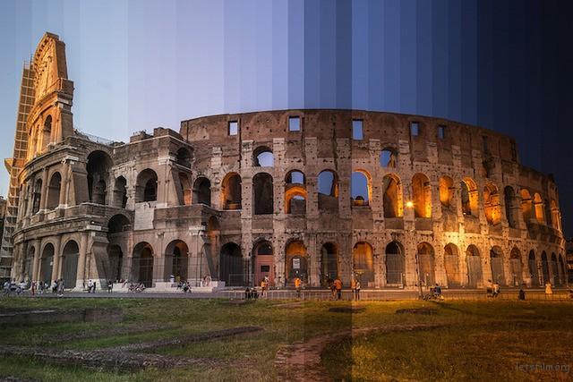 ▲古罗马竞技场,罗马,意大利