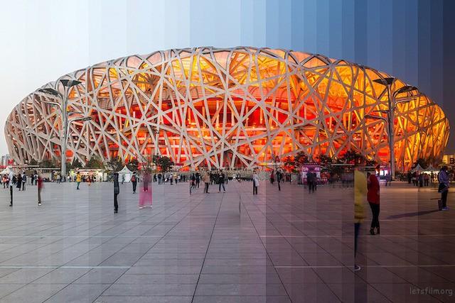 ▲鸟巢体育馆,北京,中国