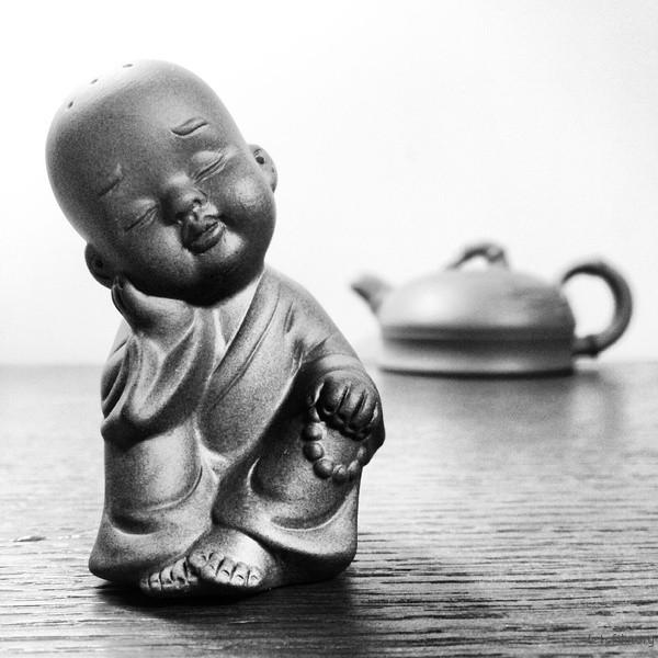 紫砂茶宠,微距虚化远景,作者:叶飞 / Y.Phoenix