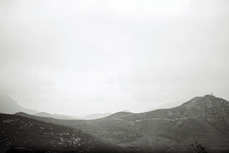 汝州风景色彩水粉写生