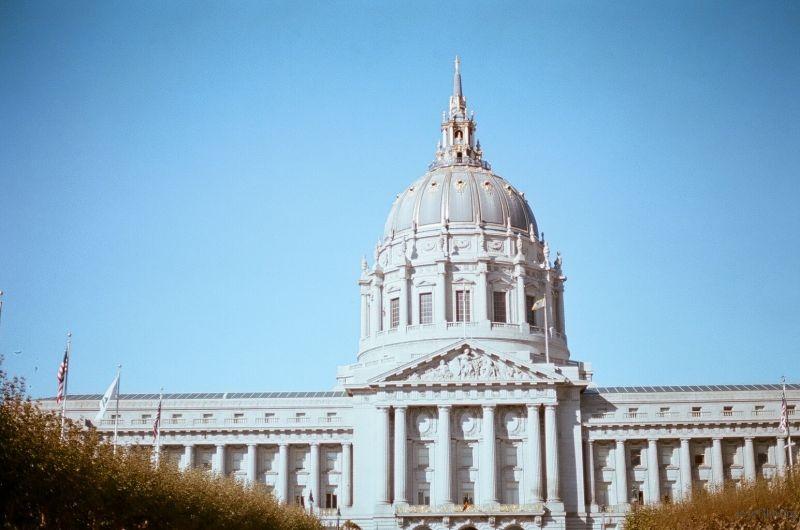 旧金山市政大厅 Canon A-1/Kodak Portra 400