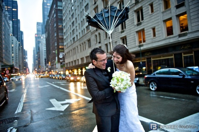 Gemma and Owain get married in NYC