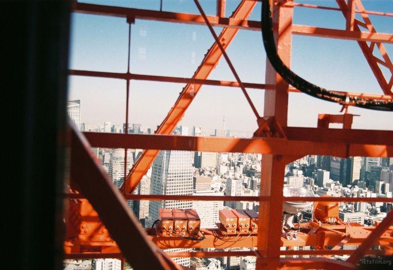 Nikon F80 摄于东京 东京塔