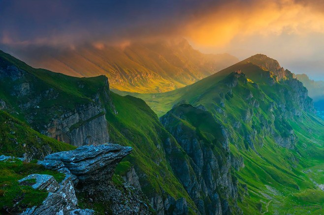 Bucegi 山脉