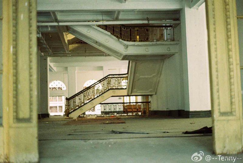 废弃的洋房