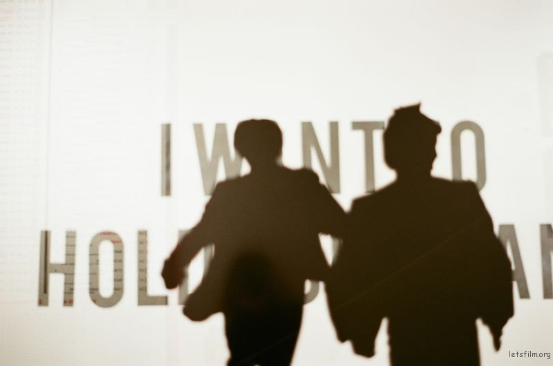 Beatles展覽-I want to hold your hand