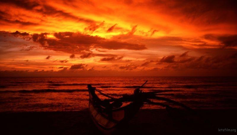 南太平洋的晚霞,美的让人窒息,甚至以为那就是童话世界。