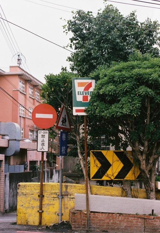 台中 —— 漫无目的在街上游荡寻找着自己心中的台湾