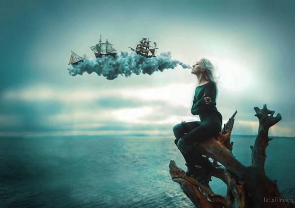 摄影师在森林中拍出这些超现实、迷幻的成人童话 | 胶片的味道