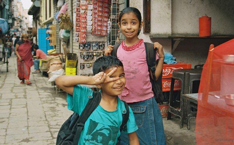 Kathmandu | 放学的小孩