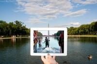 Travel with Films:她们旅游各地,用iPad搜集曾经出现在大屏幕上的场景