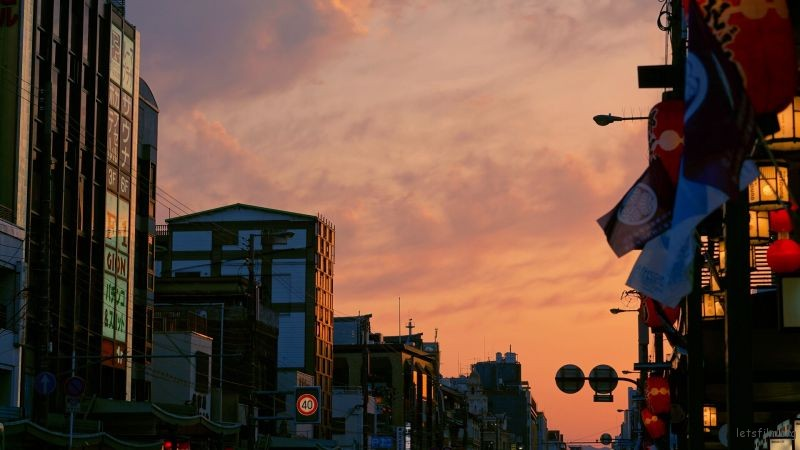 京都的夕阳2