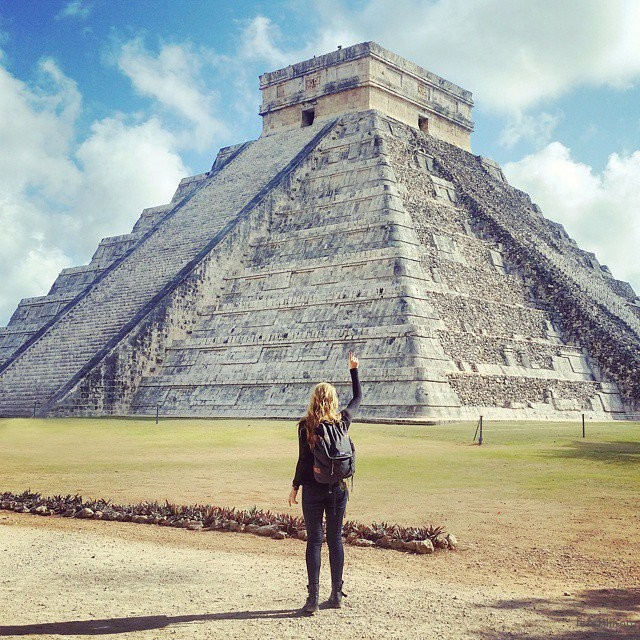 Day 1:Chichen Itza,墨西哥奇琴伊萨