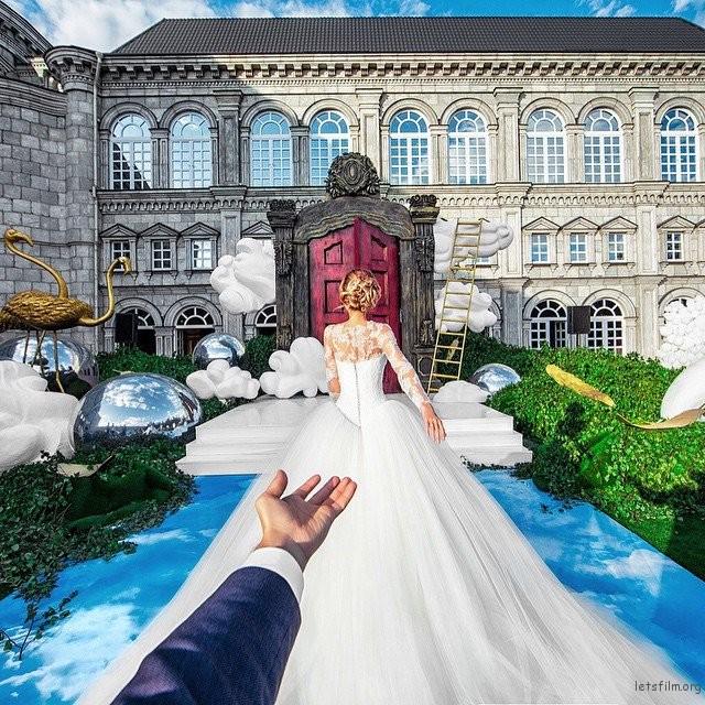梦幻的结婚婚礼照