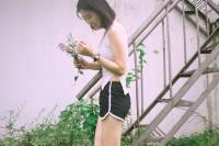 投稿作品No.5406 我拿着花等你带着我去流浪
