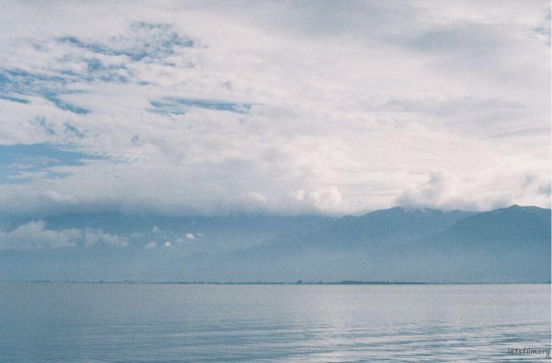 看到洱海了