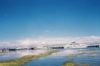 夏末秋初,青海的湖